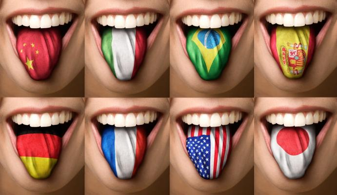 A língua do mundo