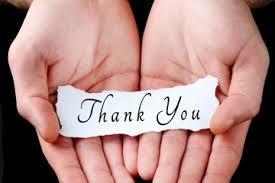 10 ways to say Thank you/ 10 maneiras de dizer obrigado(a)