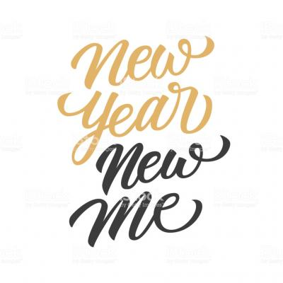 Novo ano, new me!
